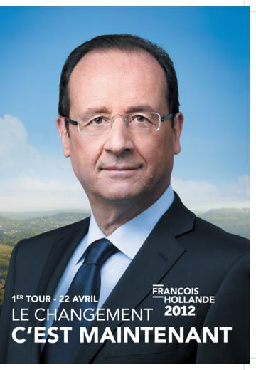 Profession de foi de François Hollande au premier tour de l'élection présidentielle 2012