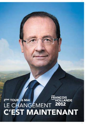 Profession de foi de François Hollande au second tour de l'élection présidentielle 2012