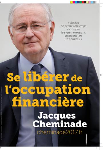 Profession de foi de Jacques Cheminade au premier tour de l'élection présidentielle 2017